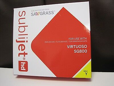 SAWGRASS SUBLIJET- HD  EXTENDED YELLOW INK CARTRIDGE FOR VIRTUOSO SG800 - 68ml