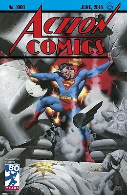 ACTION COMICS 1000 STEVE RUDE 1930's 30's DECADES VARIANT SUPERMAN NM