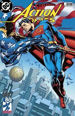 ACTION COMICS 1000 JIM STERANKO 1970's 70's DECADES VARIANT SUPERMAN NM