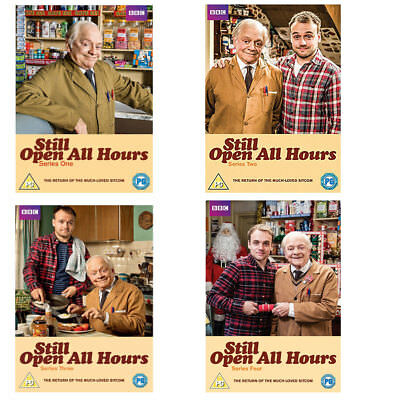 Still Open all Hours Series 1, 2, 3 & 4 + 2013 & 2016 Christmas Special DVD R4