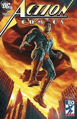 ACTION COMICS 1000 LEE BERMEJO 2000's DECADES VARIANT SUPERMAN NM