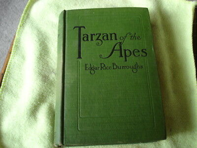 Tarzan of the Apes. 1914 first edition