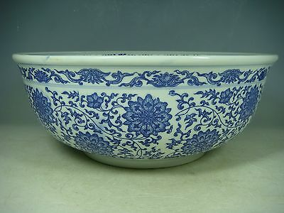 beautiful chinese blue&white porcelain bowl