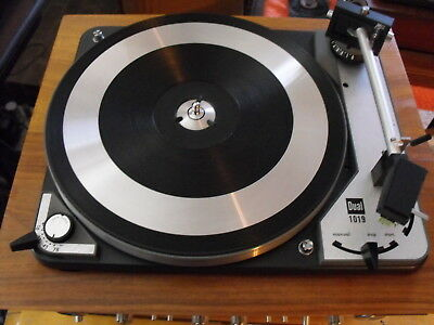 Beautiful Dual 1019 Stereo Turntable w/ Shure M91ED & New Stylus Serviced!