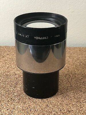 """Vintage Cinephor Bausch & Lomb 139.7mm (5.5"""") projector Lens Series II (front)"""