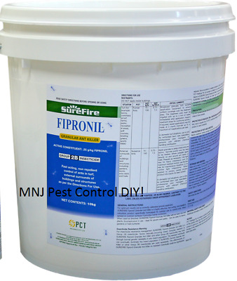 Sure Fire FIPRONIL GRANULAR ANT KILLER 10Kg