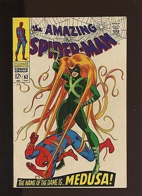 Amazing Spider-Man 62 FN 6.0 * 1 Book * Medusa! Norman & Harry Osborn! Stacy!
