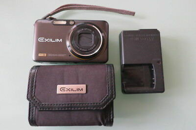 CASIO Digital Camera HI-SPEED EXILIM EX-FC100 Black 9.1MP