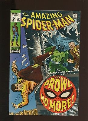 Amazing Spider-Man 79 FN/VF 7.0 * 1 Book * 2nd Prowler (Hobie Brown)! Stan Lee!