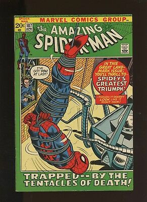 Amazing Spider-Man 107 VF 7.5 * 1 Book * Spencer Smythe! Gwen Stacy! Stan Lee!