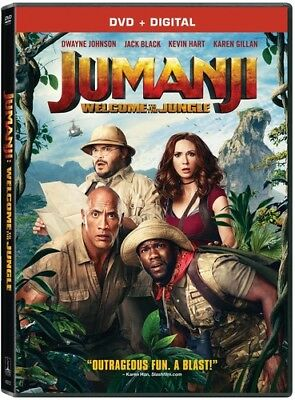 Jumanji: Welcome To The Jungle [New DVD] Ac-3/Dolby Digital, Dolby, Dubbed, Su