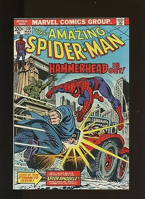 Amazing Spider-Man 130 VF/NM 9.0 * 1 Book * Ock & May Wedding! 1st Spider-Mobile