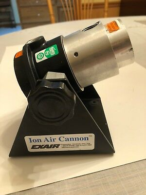 Exair Ion Air Cannon Manufacturing Clean Room Pneumatic 2In Outlet