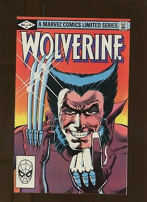 Wolverine Limited Series 1 VF 7.5 * 1 Book Lot * 1st Yukio (Unnamed)! Claremont!