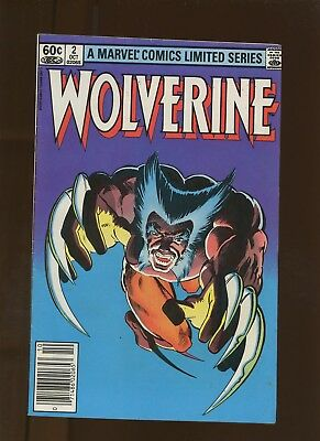 Wolverine Limited Series 2 FN/VF 7.0 * 1 Book * Yukio's (Name Revealed)! Miller!