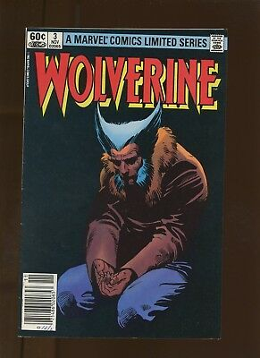 Wolverine Limited Series 3 VF 7.5 * 1 Book Lot * Loss b y Claremont & Miller!