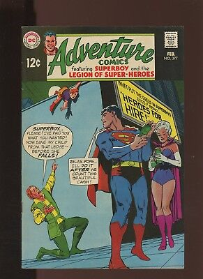 Adventure Comics 377 VF 8.0 *1 Book* Neal Adams Cover! Heros for Hire! Superboy!