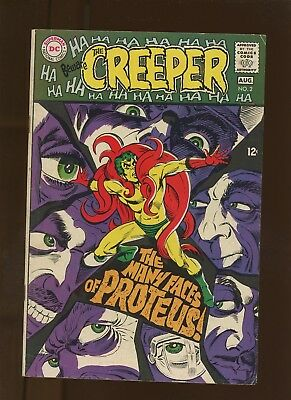 Beware the Creeper 2 FN 6.0 * 1 Book Lot * 1st Proteus! Denny O'Neil Steve Ditko