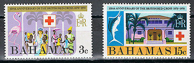 Bahamas 307-308 MNH Complete Set  British Red Cross 1970