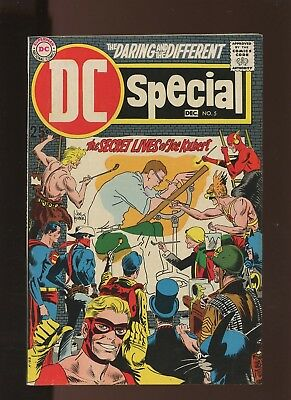 DC Special 5 FN/VF 7.0 * 1 Book * Joe Kubert & Family in Book!!! Easy Company!