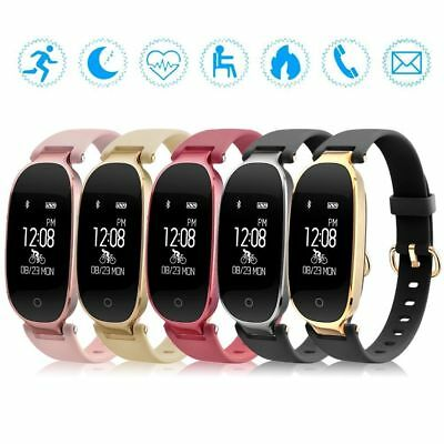 Women Calorie Fitness Activity Tracker Smart Watch Waterproof Wristband Bracelet