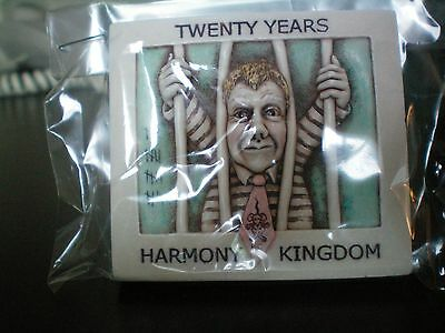 Harmony Kingdom NEW UK CONVENTION Evt Tile HK 20th Anniversary Magnet Blue Ver.