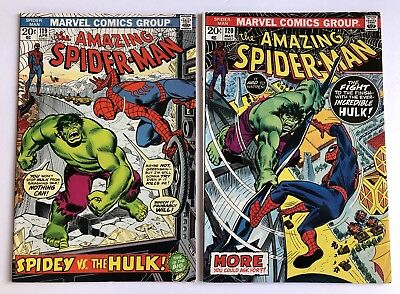 Amazing Spider-Man #119-120 Hulk Battle HIGH GRADE!!!!