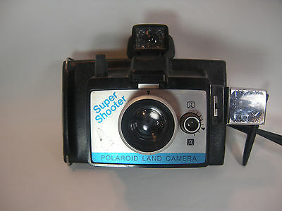 Polaroid Super Shooter Land Instant Film Camera w/ Wrist Strap