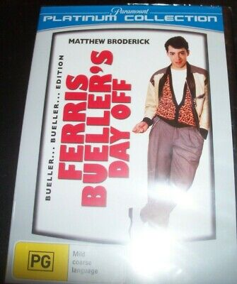 Ferris Bueller's Day Off (Matthew Broderick) (Australia Region 4) DVD - NEW