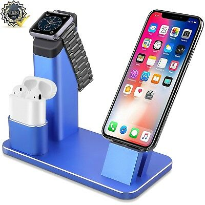Apple Watch Stand[No need install],Eliubing Aluminum 5 in 1 Apple Watch iPhone A