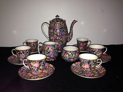Royal Winton Coffee Set (Majestic pattern) Mint condition (never used)