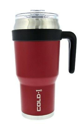 Coffee Thermos Vacuum Mug Bottle Stainless Steel Hammerton Red 40 OZ NEW