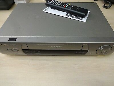 Panasonic NV-HD675B Super Drive VHS Video Recorder VCR & Remote - Fully Working