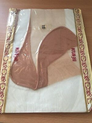 Ladies New Vintage Seamed Stockings, Original Fifties With Packaging, Size 8.5