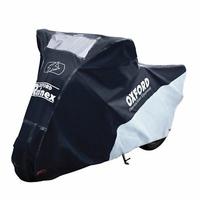 Oxford CV504 Rainex Deluxe Rain & Dust Outdoor Motorbike Motorcycle Cover XL