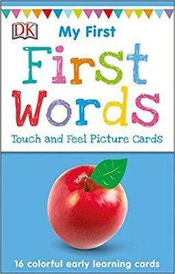 My First Touch and Feel Picture Cards by DK [Card Game]  [Cards]  NEW