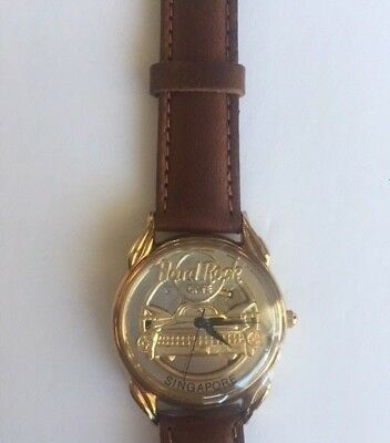 New Hard Rock Cafe by Fossil Wrist Watch - Taxi - Limited Edition (Singapore)