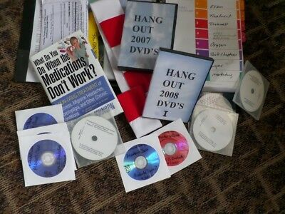 Chronic Conditions- Neurology & Nutrition 70+DVD's/Book/Manual ++++WOW!