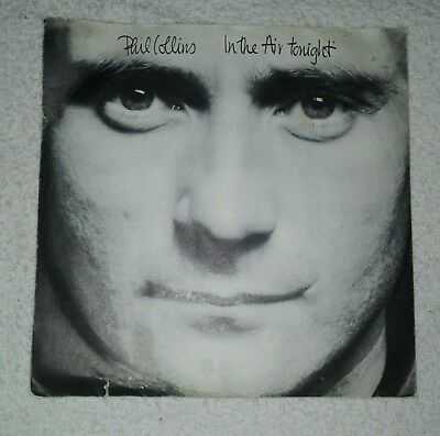 """Phil Collins - In the Air tonight / The roof is leaking, 45U/min, 7"""", Zust.: gut"""