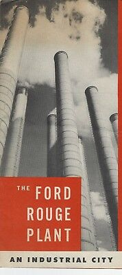 Ford Rouge plant brochure from early 1940's