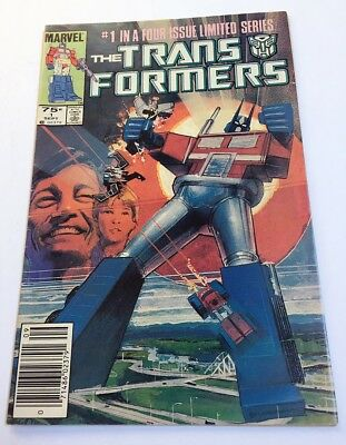 The Transformers Marvel Comic #1 September 1984 first issue