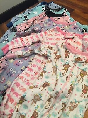 lot of 6 9-12 months sleepers girls childrens place
