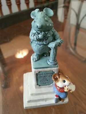 """wee forest folk """"statue in the park"""""""