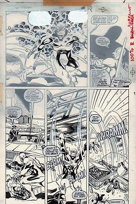 X-Factor #53 p 19, Terry Shoemaker, Archangel vs. Caliban, Marvel, X-Men, 1990!