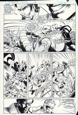 X-Factor Annual #3 p 4, Evolutionary War, Action, Terry Shoemaker, 1988!