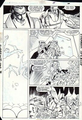 X-Factor Annual #3 p 12, Evolutionary War, Action, Terry Shoemaker, 1988!