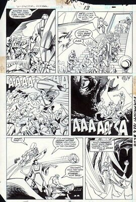 X-Factor Annual #3 p 13, Evolutionary War, Action, Terry Shoemaker, 1988!
