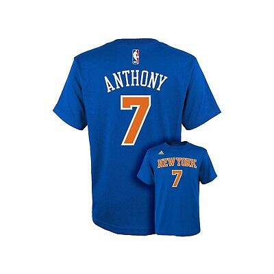 Adidas NBA Go-To Tee NY Knicks Anthony Gr. S