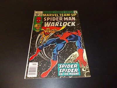 Marvel Team-Up 55 VF 1st appearance Gardener Warlock Infinity Gems Spiderman