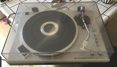 Kenwood KD-5070 Fully Automatic Direct-Drive Turnable in Mint Condition